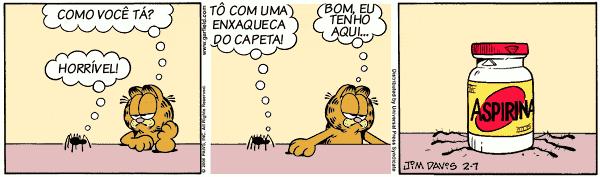 Garfield e o encontro