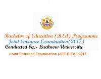 UP B. Ed Admission (JEE B. Ed)