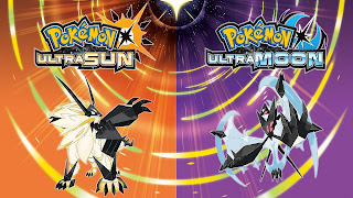 Pokemon Ultra Sun and Ultra Moon Cover