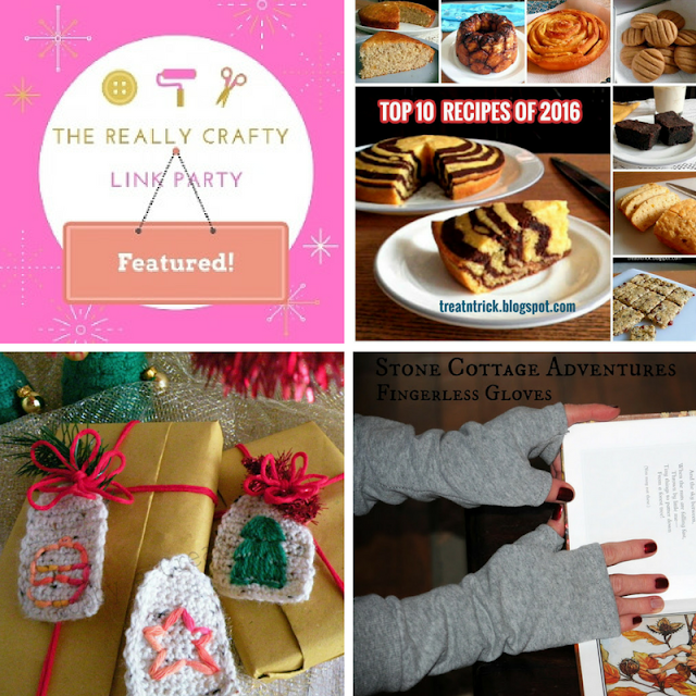 The Really Crafty Link Party 49 featured posts