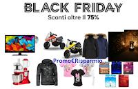 Logo Black Friday Groupon: Sconti oltre il 75% tutto per la casa, bimbi, elettronica, moda e gioielli