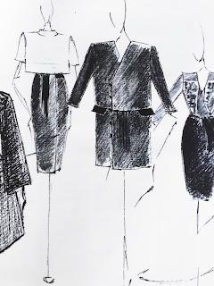 Les étapes du 6ème Concours Jeunes Talents organisé par Mode Estah expliqués - croquis