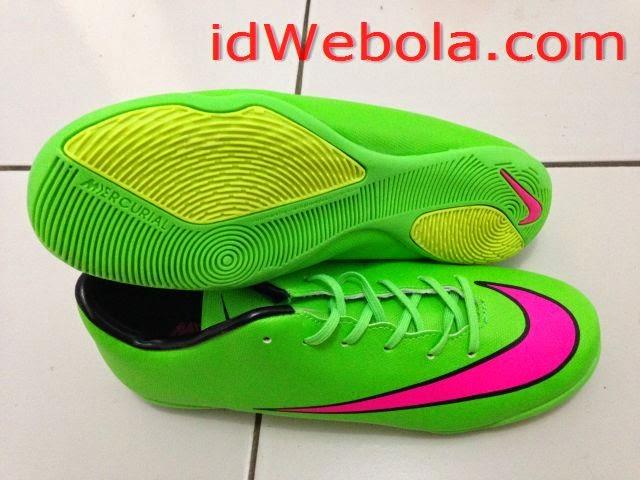 Sepatu Futsal Mercuri X Hijau