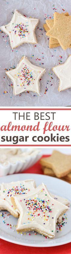 the best almond flour sugar cookies {gluten-free, grain-free}