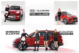 Kia On Beat BLACKPINK's Pose Challenge