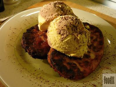 Papanași cu înghețată