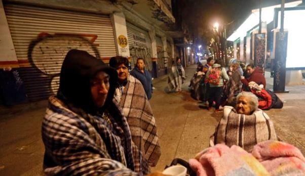 Jumlah Korban Gempa Meksiko Bertambah Menjadi 60 Orang