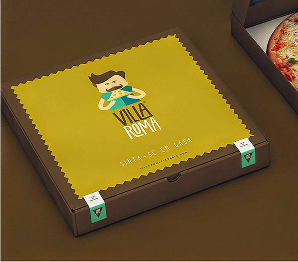 16 Creative Boxes for Pizza Packaging Design  JayceoYesta