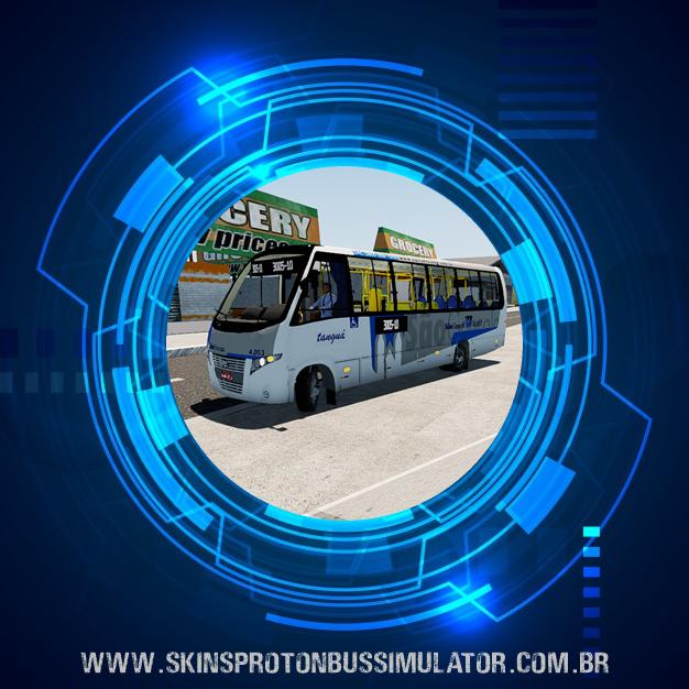 Skin Proton Bus Simulator - Volare DW9 MB LO-915 Viação Tanguá