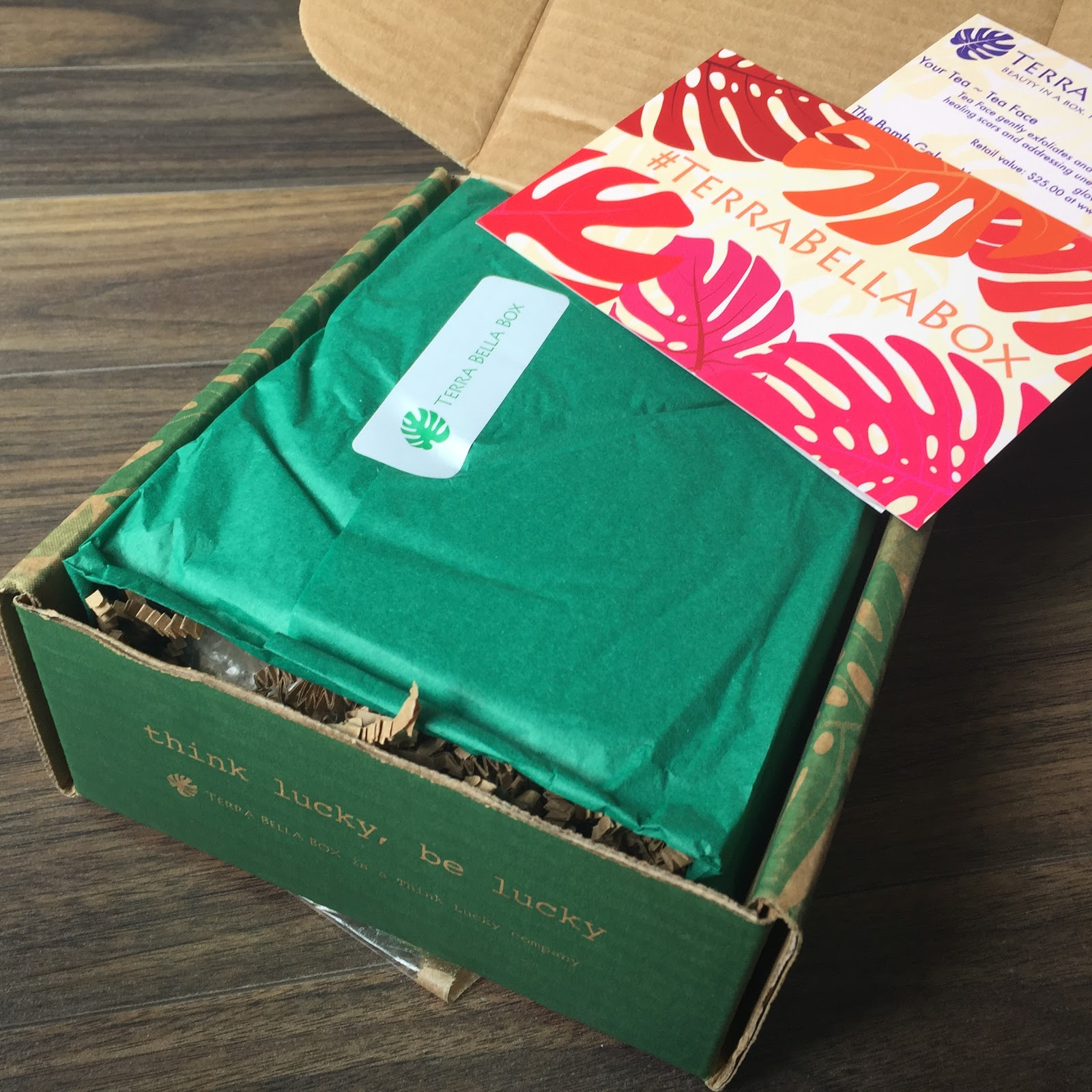Terra Bella Box Review - August 2017 - Eco-Beauty