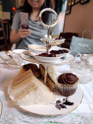 Soho's Secret Tearoom London afternoon tea