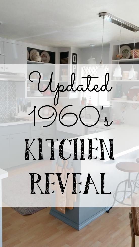 Updated 1960 S Kitchen Reveal Little Vintage Cottage