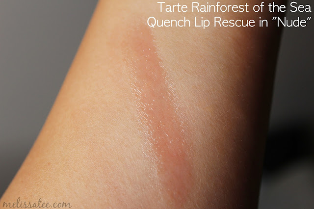 sephora favorites, sephora favorites give me more lip, sephora favorites give me more lip 2017, sephora favorites give me more lip 2017 review, sephora favorites give me more lip review and swatches, tarte rainforest of the sea, tarte rainforest of the sea quench lip rescue, tarte rainforest of the sea quench lip rescue in nude swatches