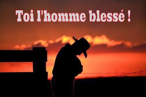 Poeme Homme blessé, Cowboy