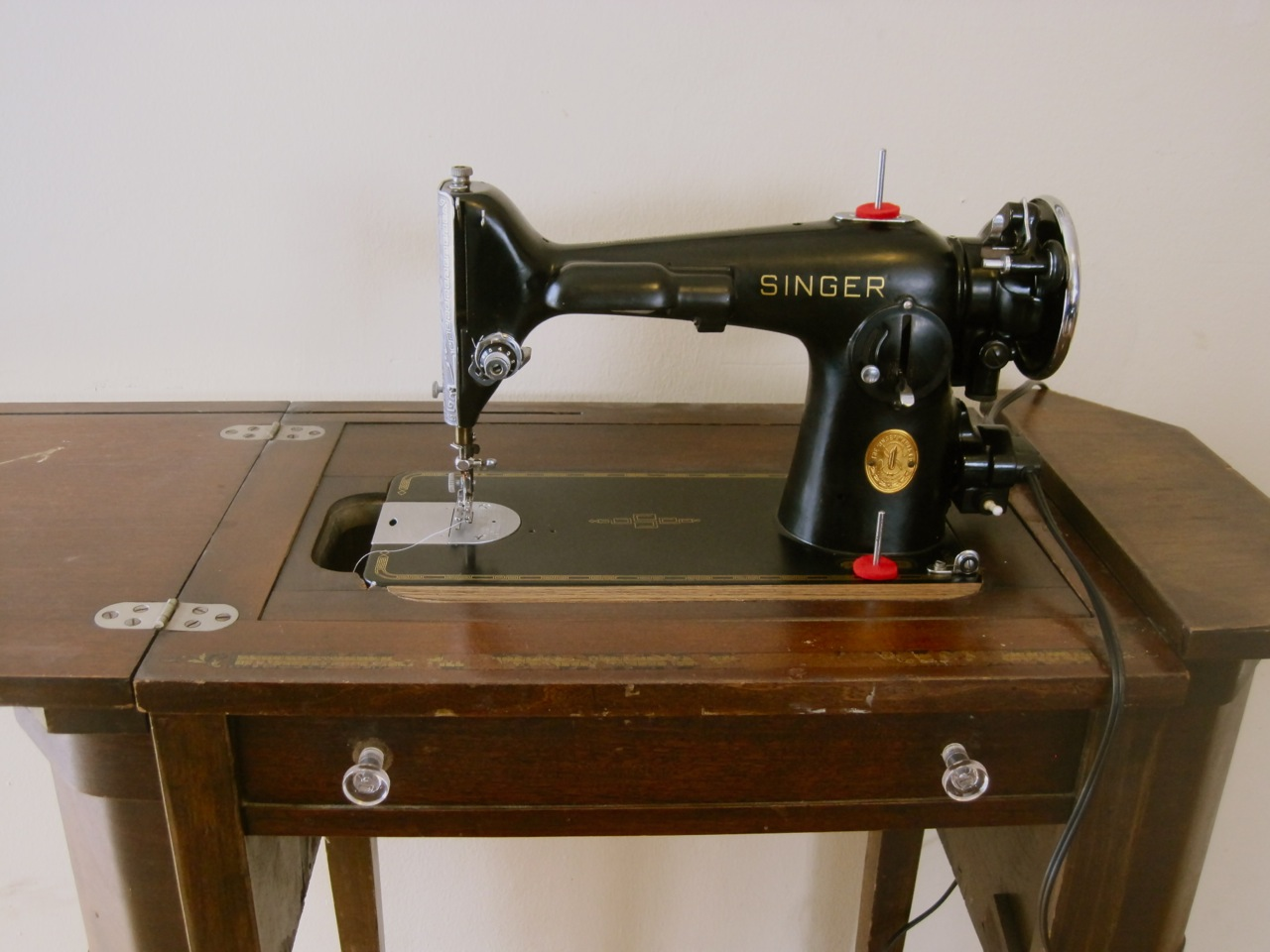The Project Lady: Singer 201-2 Sewing Machine Motor Re ...