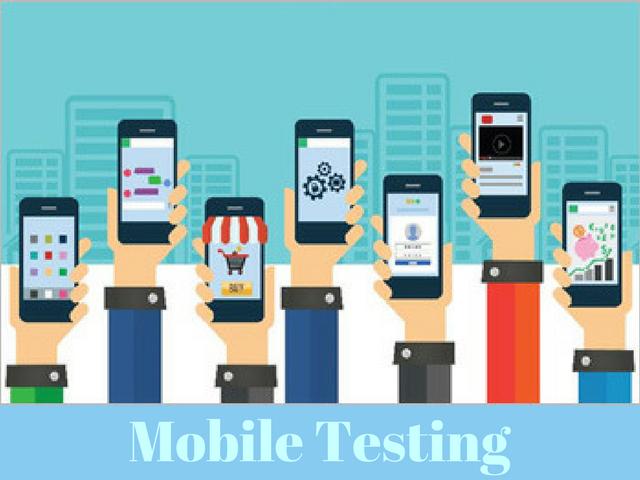 mobile testing of website