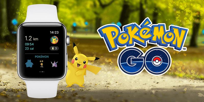 play pokemon go on apple watch