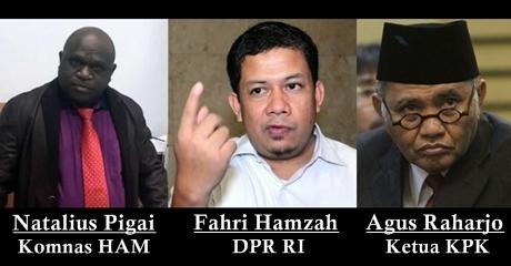 Natalius Pigai Sebut Fahri Hamzah Asbun Soal Komnas HAM, Ketua KPK: Itu Pengadilannya Dilecehkan