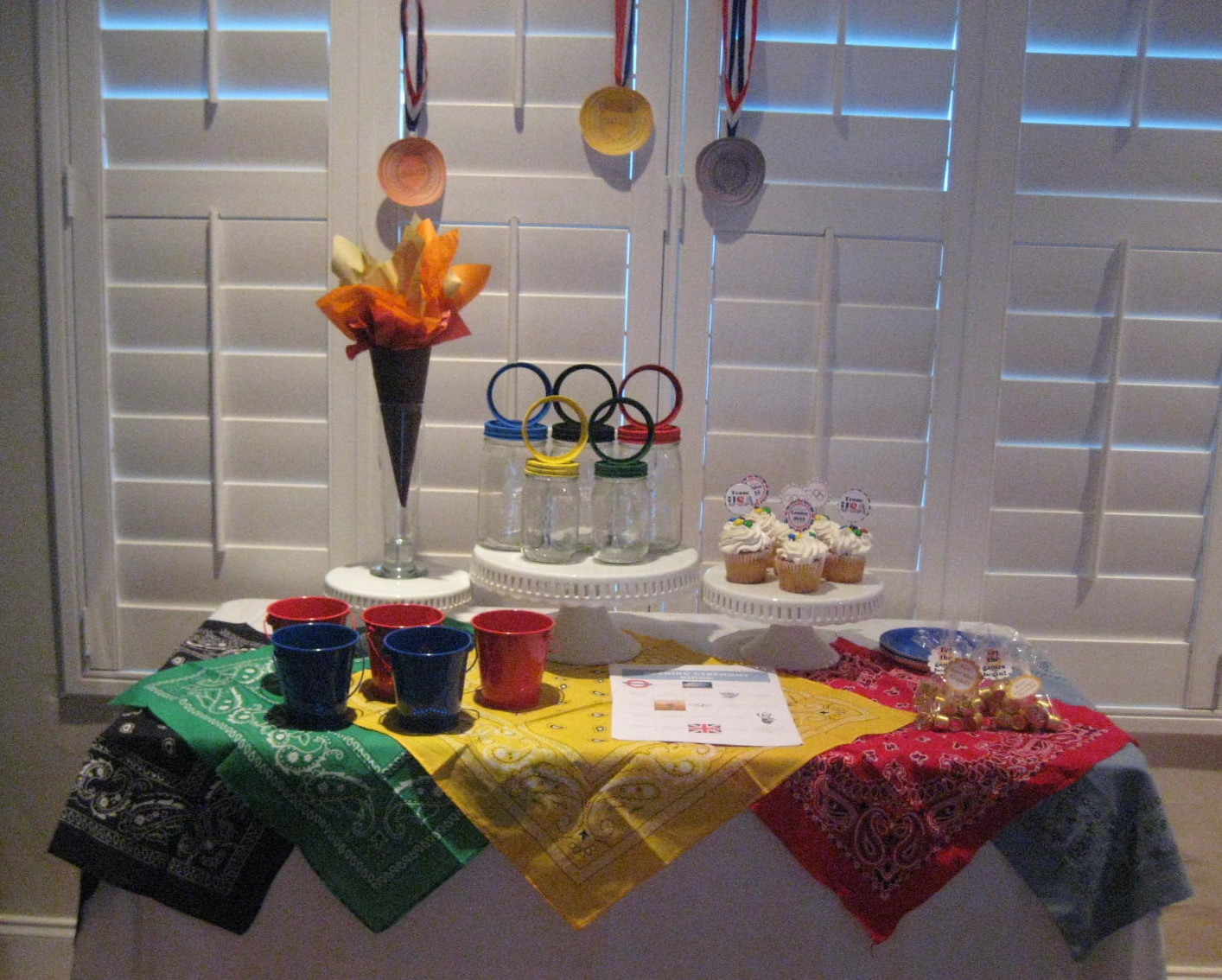 Creative Party Ideas By Cheryl Olympic Opening Ceremony Party And