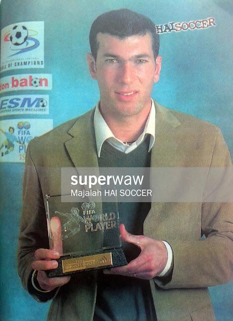Zinedine Zidane FIFA WORLD PLAYER