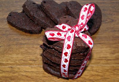 ciasteczka czekoladowe ze skórką pomarańczową