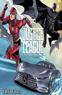 Justice League Mercedes Benz