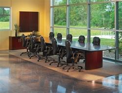 Wood Veneer Boardroom Furniture