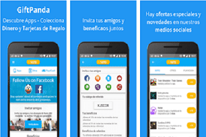 GiftPanda, simpática aplicación para ganar dinero