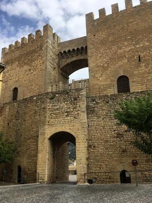 Puerta de San Miguel en Morella