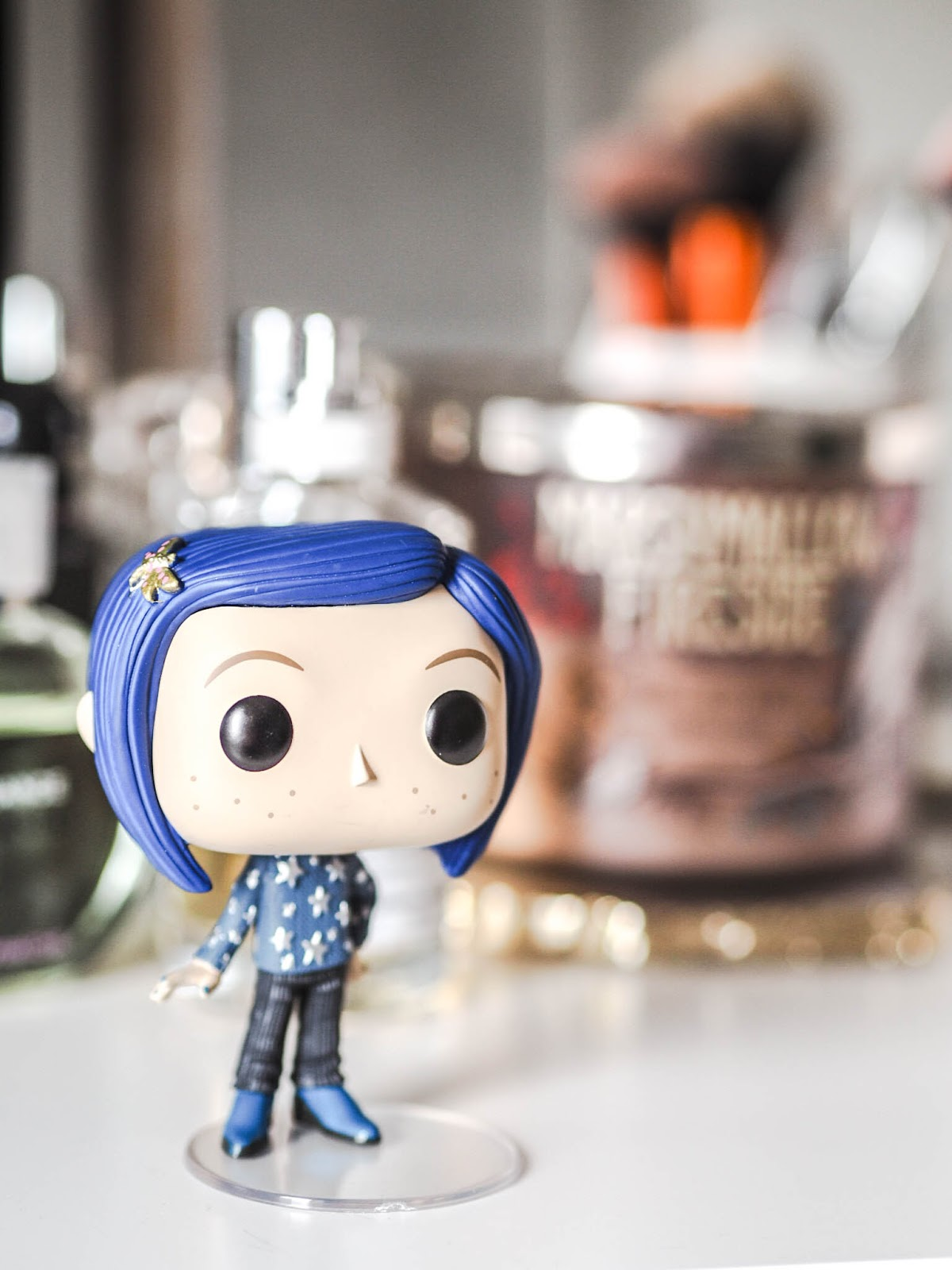 Funko Pop Coraline With Cat