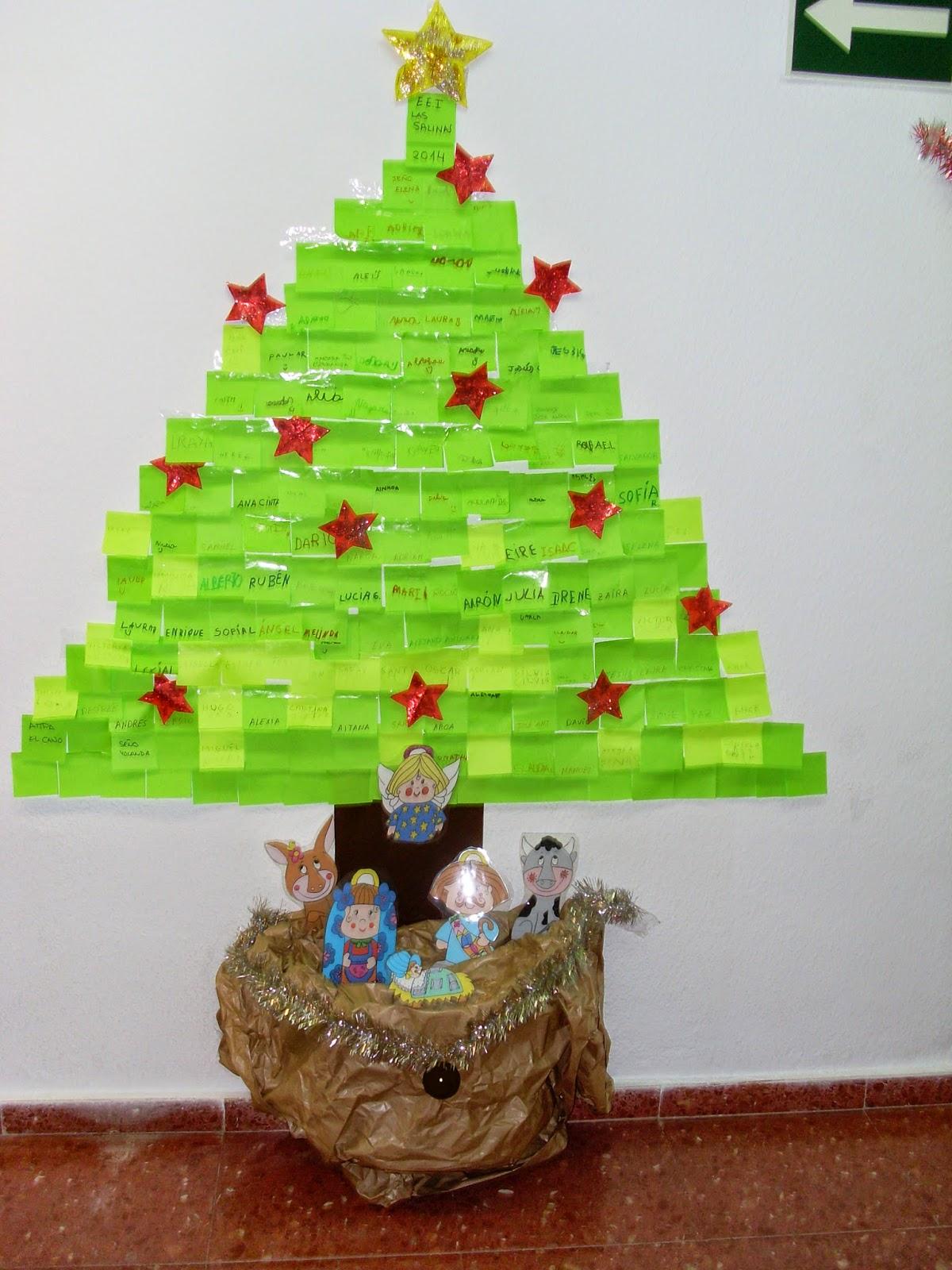 decoracion navidad escuela infantil