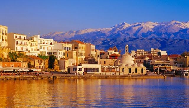 Pontos turísticos em Creta, Grécia