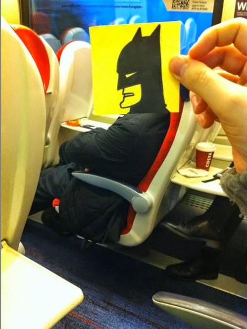 באטמן ברכבת
