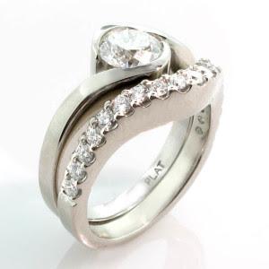 4c69d5511f756c Gorgeous Custom Wedding Rings by SIMON YAGHDJIAN (Astranova Jewellery -  Vancouver, BC)