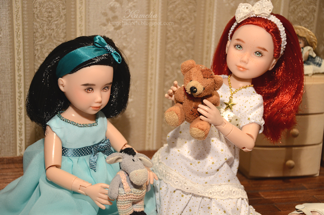 Handmade summer dresses for dolls