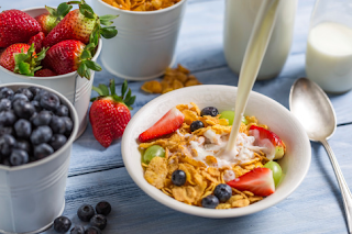 menu oatmeal untuk diet