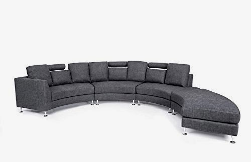 Curved Sofas And Loveseats Reviews Curved Modern Sofa