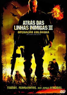Atrás das Linhas Inimigas 3: Operação Colômbia - DVDRip Dual Áudio