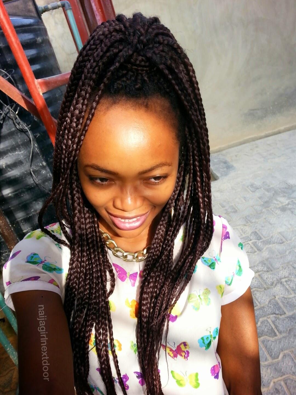 4 Interesting Ways To Style Your Box Braids Naija Girl