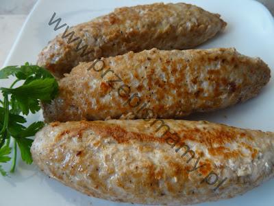 """Paluszki mięsne a`la """"Cevapcici """""""