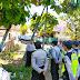 Kapolsek Kwanyar Pimpin Pengamanan Kampanye Paslon 1 di Desa Morombuh