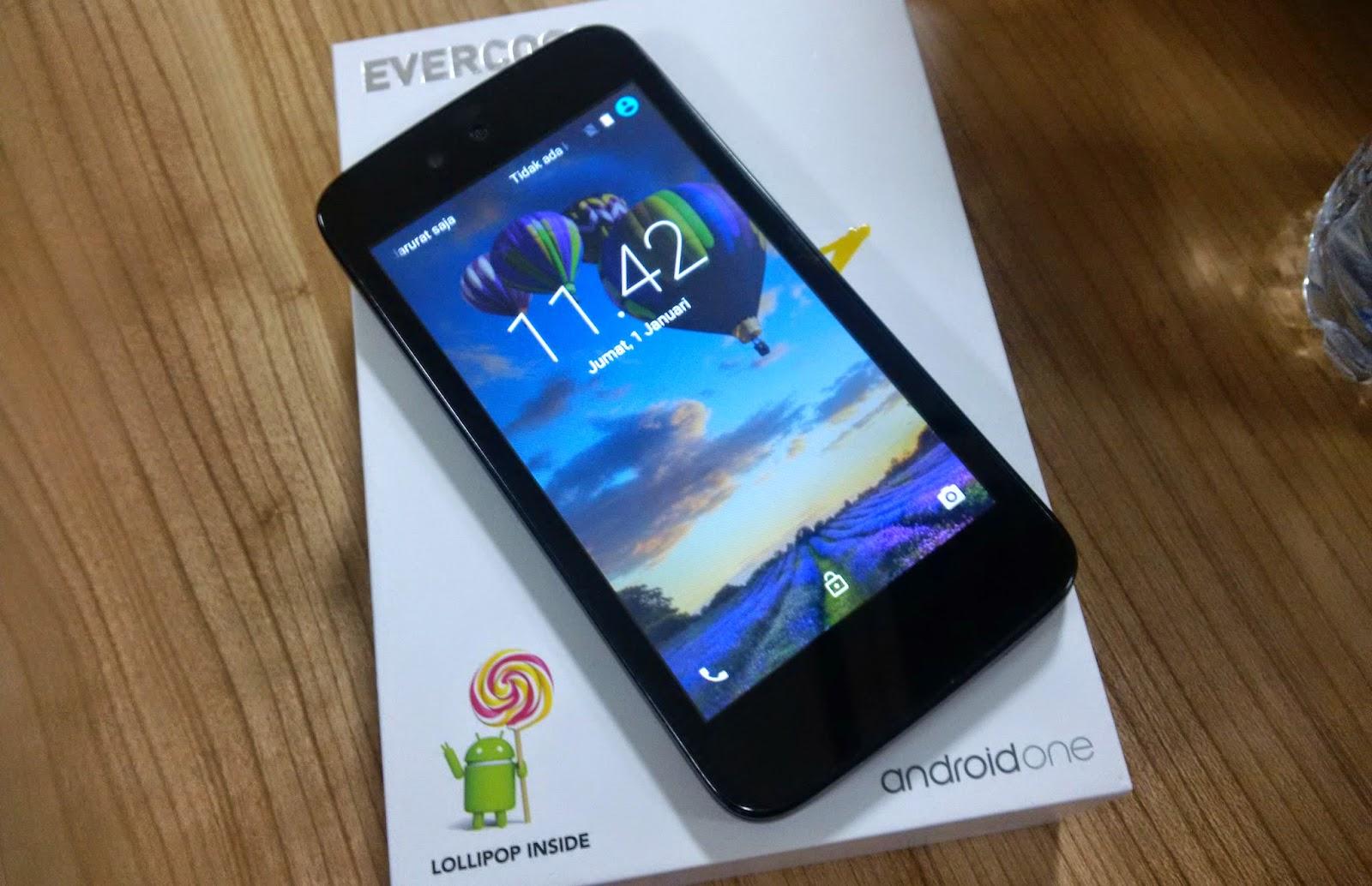 Spesifikasi dan Harga Android One Evercross One X