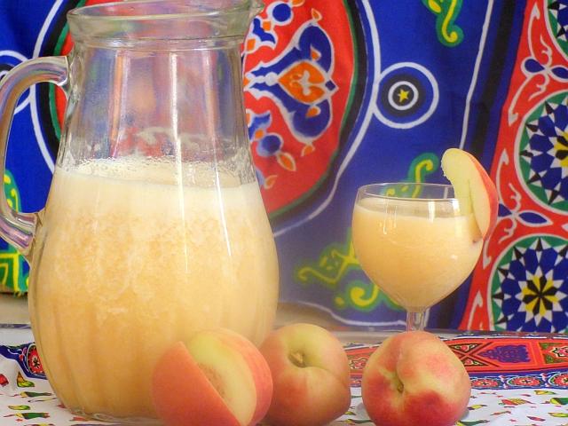 Frischer Pfirsichsaft selber machen Rezept Orangen Rezept