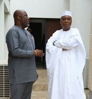 Dino Melaye and Saraki
