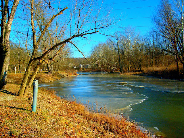 Laughery Creek at Friendship Indiana