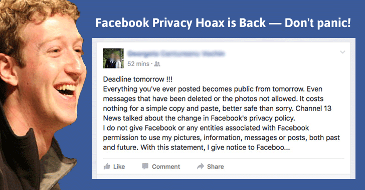 Facebook privacy is public - inspire space