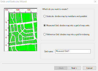 Membuat Template Layout ArcGIS 5 cara membuat grid