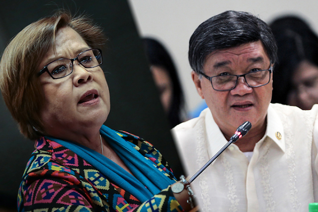 Aguirre: Someone higher than De Lima profited from NBP payoffs