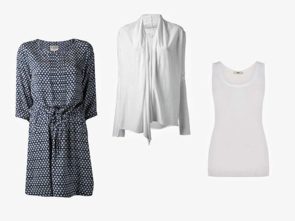 How to build a capsule wardrobe from scratch - step 11 - an outfit for balance