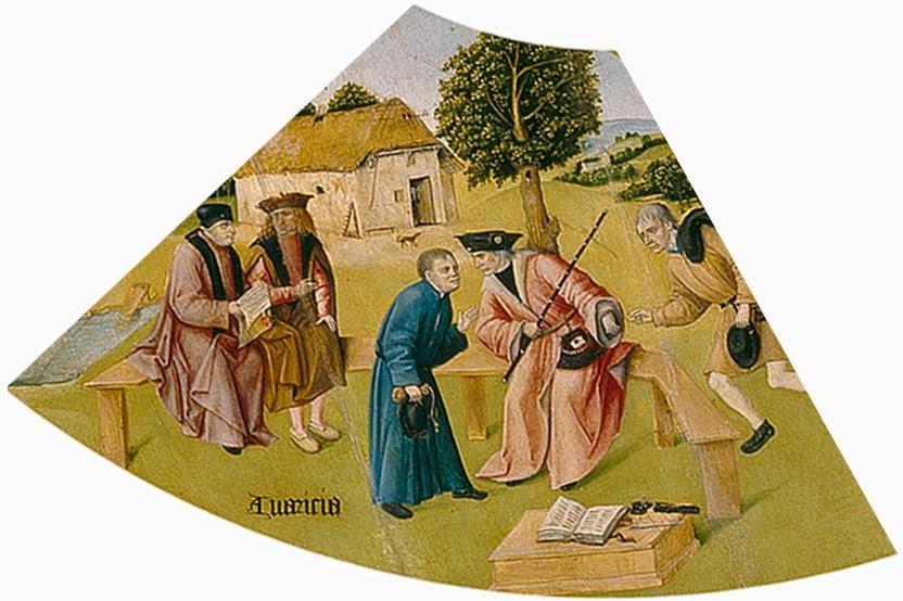 El Bosco - Mesa de los pecados capitales - La avaricia